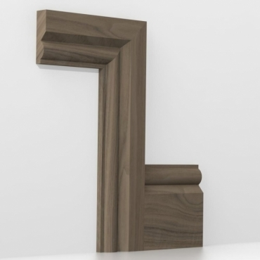 Solid Walnut Torus Architrave Sets