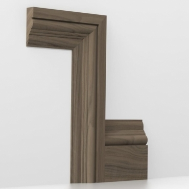 Solid Walnut Tudor Architrave Sets
