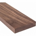 Solid Walnut Walnut Solid Square Edge Door Threshold 35mm Wide