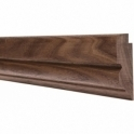 Solid Walnut Winchester Picture Rail 3 Metre