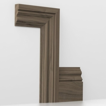 Solid Walnut Windsor Architrave Sets